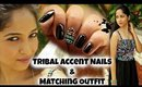 Tribal Accent Nails And Matching Outfit | OASAP