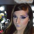 Angel inspired makeup