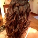 Free-form Waves...by Calista Brides Hair & Makeup Artistry