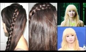 Lace Braid Headband - Victoria (Electric Shock)