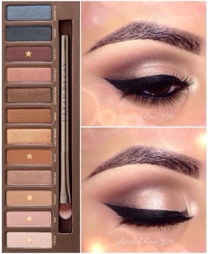 Naked palette series look #1