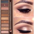Naked Palette look #1
