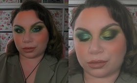 Make-Up In Real Time | St. Patrick's Day Two-Tone Green Eyes