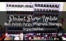 Product Purge: Update | Nail Polish Storage, Organization