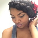 Side Braid - Natural hairstyles