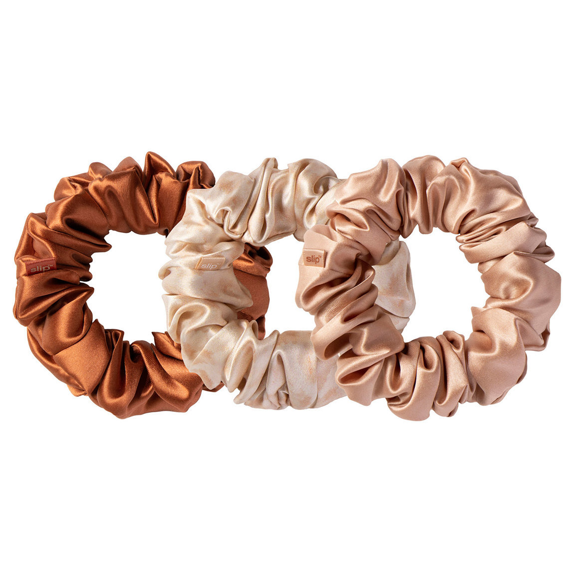Slip Large Silk Scrunchie Desert Rose alternative view 1 - product swatch.