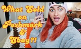 Making $280 in 1 Week   What Sold on Poshmark and Ebay   Part Time Reseller