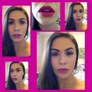 Matte Hot Pink Lips
