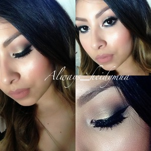 Urban decay naked 2 palette with Mac Brown script and morphe brushes eye shadows  follow my Instagram @always_heidymua