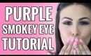 Smokey Purple Eye Makeup Tutorial and Tips