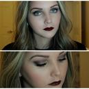 Grunge/Gothic/Vampy Makeup