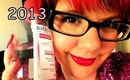 Beauty Favourites 2013 l Clare Elise