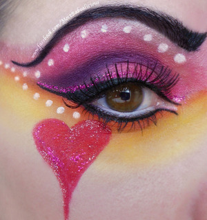 Just a detail of my whole look. Queen of Hearts!