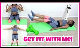 WORKOUT AT HOME WITH ME!