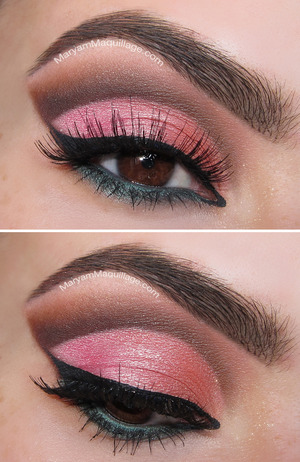 Details: http://www.maryammaquillage.com/2013/06/too-faced-summer-eyes-cut-crease.html