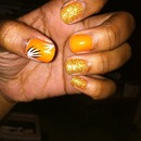 Nails I did a while ago...
