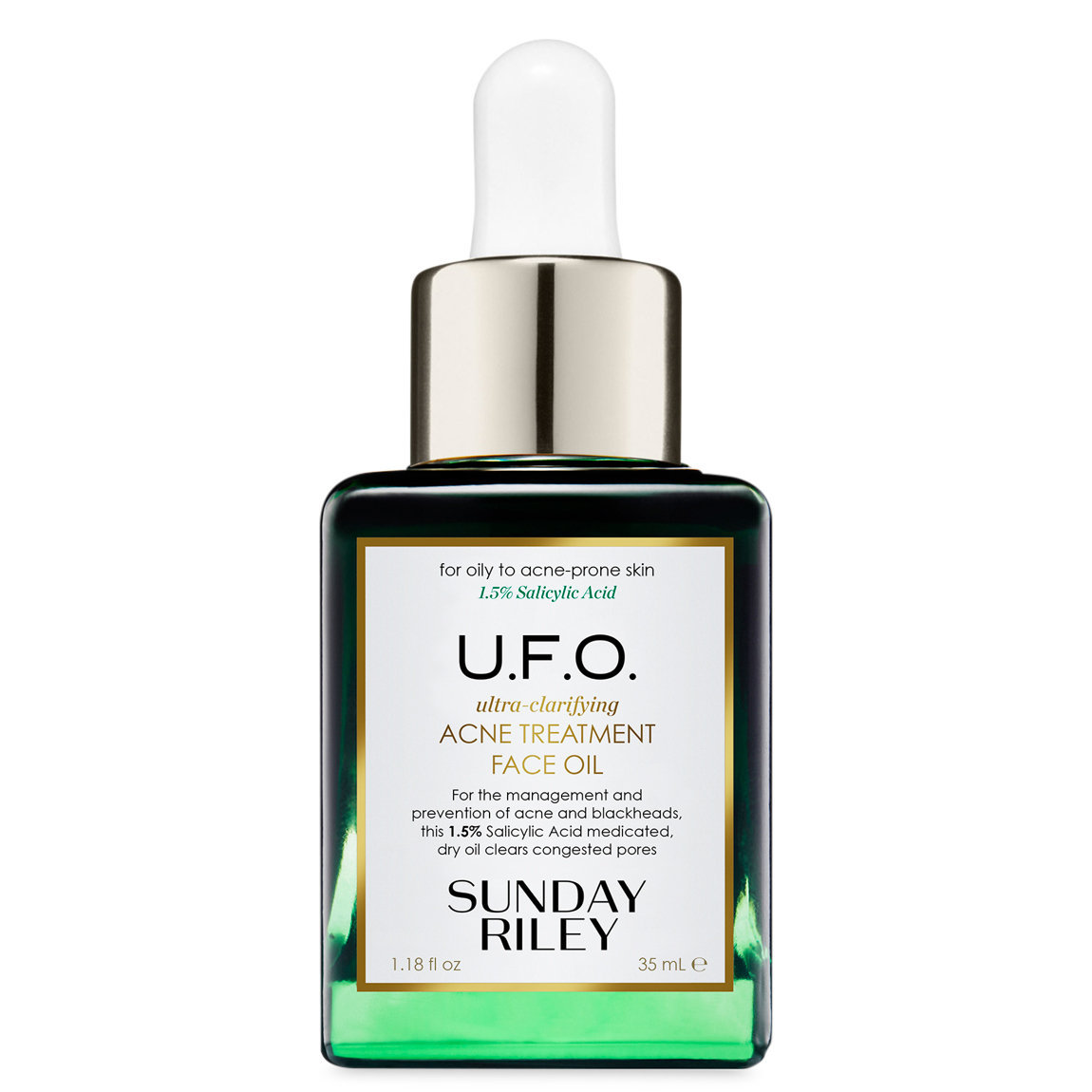 Sunday Riley U.F.O. Ultra-Clarifying Face Oil 35 ml alternative view 1 - product swatch.