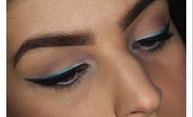Blue Gradient Eyeliner | Sigma Paris Palette Makeup Tutorial ♥
