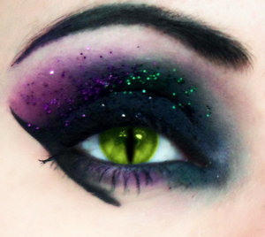 Inspired Maleficent look