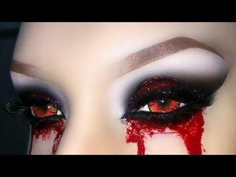 Sexy Vampire / Demon / Zombie / Witch Smoky Eyes with ...