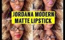 Jordana Moderna Matte Lipstick Swatches and Review