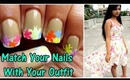 Match your nails with your outfit | Dresslink