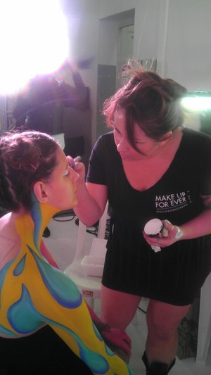 MAKE UP FOR EVER BODY PAINTING