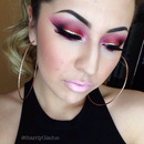 Red Smokey Eyes