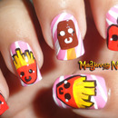 Kawaii Food Nail Art