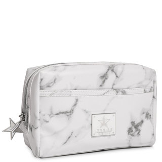 Makeup Bag White Marble