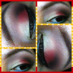 The yellow doesn't have a lot of pigmentation to it but i love the combos;)