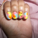 ♥ Splash Nails ♥
