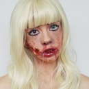 Zombie Doll Halloween Makeup