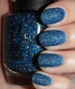 From the Mariah Carey Collection (Liquid Sand finish). See more swatches & my review here: http://www.swatchandlearn.com/opi-get-your-number-swatches-review/