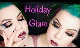 Holiday Glam GRWM |  Urban Decay Heavy Metal Collection