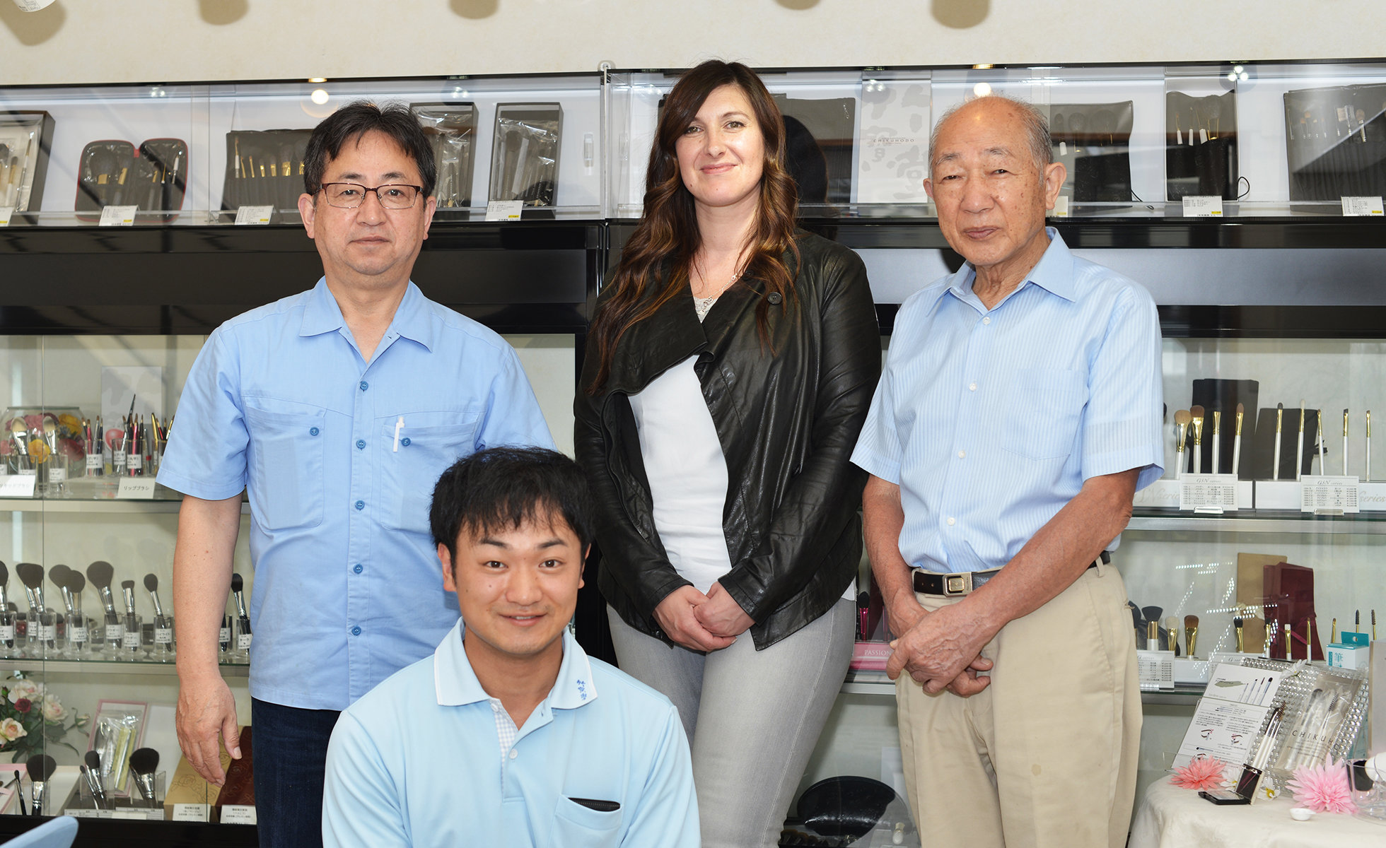 Sonia G. with the Chikuhodo Family