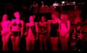 "RETRO KITTY SWIM Fashion Show at the DANCES OF VICE ""Rockabilly Night Market"" 7.4.13"