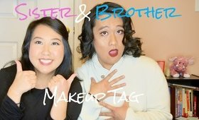 SISTER DOES BROTHER MAKEUP TAG