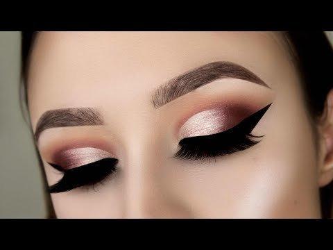 e353084ea04c Morphe x Jaclyn Hill Palette Makeup Tutorial    Warm Toned Half Cut Crease