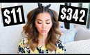 $1 Dollar Tree Makeup vs High End Makeup Products!