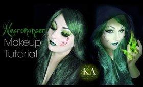 Necromancer Halloween Makeup Tutorial