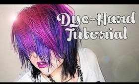 LIVE FREE & DYE-HARD: Pink, Purple & Black!