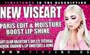 Viseart Paris Edit & Moisture Boost Lip Shine! Review & Swatches of All, & Tutorial | Tanya Feifel