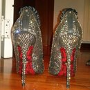 my new shoes with swarovski
