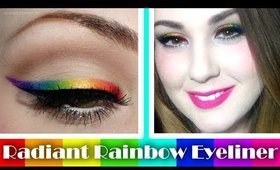 Radiant Rainbow Liner Tutorial