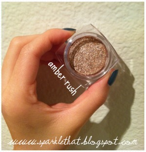 L'Oreal Infallible Shadow! Amber Rush  http://sparklethat.blogspot.com/2011/12/new-loreal-infallible-eyeshadow.html