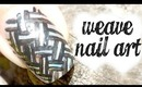 Weave Nail Art (freehand)