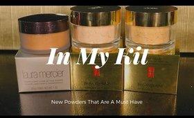 In My Kit   Laura Mercier Deep Powder Review