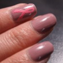 Breast Cancer Awareness Mani