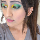 Parrot Inspired Makeup